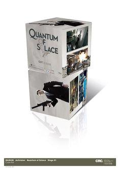 Quantum of Solace promotional cube. Client: Activision. Circa 2008. © Sean Mowle.