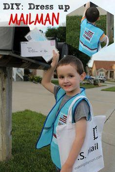 DIY Dress Up: Mailman