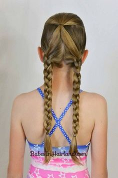 No Fuss Hairstyles for Summer or the Pool from BabesInHairland.com