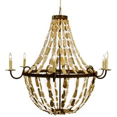 Lowcountry Originals May River Empire Rustic Chandelier @Layla Grayce