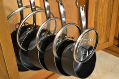 Keep your pot and pan lids organized with Glideware