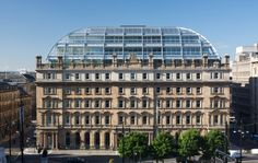 Exceptional re-development of the Grade A listed, former General Post Office Building provides 130,000ft2 of luxury office space across nine floors, in George Square, Glasgow's cultural and commercial heart.