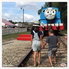 Best Friends make a day out with Thomas even better! Don't miss Day Out With Thomas!   #thomasandfriends #thomasthetankengine #thomasthetrain #dayoutwiththomas