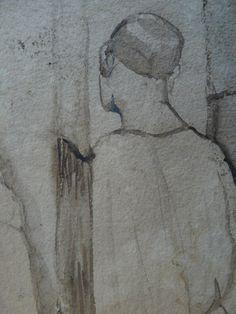 CHASSERIAU Théodore,1846 - Arabe barbu et autres Figures - drawing - Détail 23