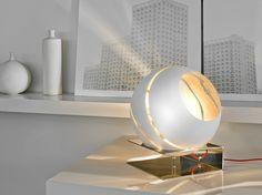Lámpara de mesa / lámpara de pie de vidrio Colección Bond by TERZANI   diseño Bruno Rainaldi