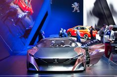 #PeugeotOnyx #conceptcar at #GIMS 2015 #design