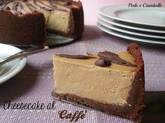 La cheesecake al caffè: una golosità allo stato puro! :)