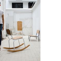 Moe chairs by The Bureau from Singapore(using these as inspiration!)