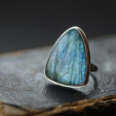 Azul (handcrafted ring from Clementine)