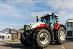Steyr Terrus CVT 6270 Juni 2016, Agriculture Farming, Steyr, Technology, Good Job, Tech, Engineering
