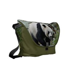 Shop Beautiful Giant Panda Bear Photographic Messenger Bag created by TreadSoftly. Next Bags, Commuter Bag, Pack Your Bags, Tweed Fabric, Beautiful Bags, Panda Bear, Travel Bag, Purses And Handbags, Bag Accessories