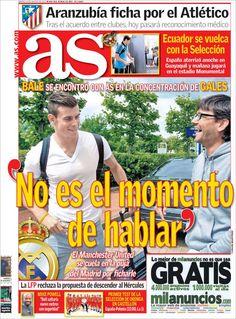 Los Titulares y Portadas de Noticias Destacadas Españolas del 13 de Agosto de 2013 del Diario AS ¿Que le pareció esta Portada de este Diario Español?