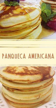 Aprenda a fazer as legítimas Panquecas americanas! Receita fácil e sem complicação | #receita #panqueca #facavocemesma #comida