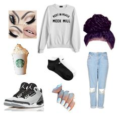 """""""#TeamDrake"""" by tyana-b ❤ liked on Polyvore featuring Topshop and NIKE"""