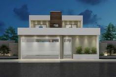 ✔ 43 the most unique modern home design in the world 2019 41 > Fieltro. Exterior Wall Design, Facade Design, House Front Design, Modern House Design, Farmhouse Renovation, Container House Design, Villa Design, Home Room Design, Facade House