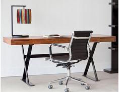 "TOKYO desk 71"" (teak)"