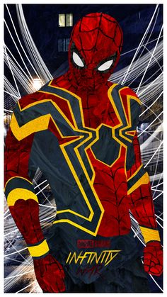 Cool Stuff — cinexphile: Iron Spider 'Infinity War' art by...