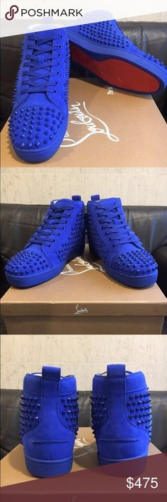 Men's Christian Louboutin Sneakers Brand new, bright and beautiful. Christian Louboutin Shoes Sneakers