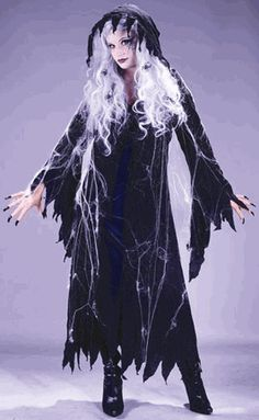 Adult Spider Web Gauze Ghost Costume