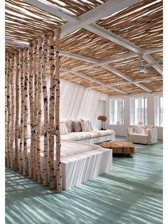 Living room design idea - Home and Garden Design Ideas - schöner Sonnen- und Sichtschutz :)