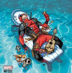 Day of the Deadpool Deadpool Fan Art, Deadpool X Spiderman, Marvel Dc Comics, Marvel Heroes, Marvel Universe, Hulk, Captain America, Deadpool Wallpaper, Marvel Comic Character