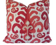 Decorative Designer Duralee Ikat Pillow Cover by MakingFabulous, $42.00