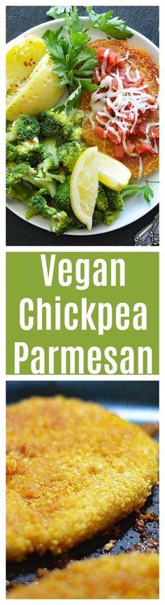 *****Vegan Chickpea Parmesan