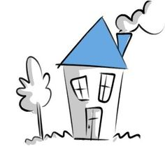 Drawing ideas for 5 year olds draw a house this is a very simple drawing idea . Very Easy Drawing, Easy Drawings, Sad Sketches, Drawing Tutorials For Beginners, Old Images, Simple Doodles, Baby Cartoon, 5 Year Olds, Disney Cartoons