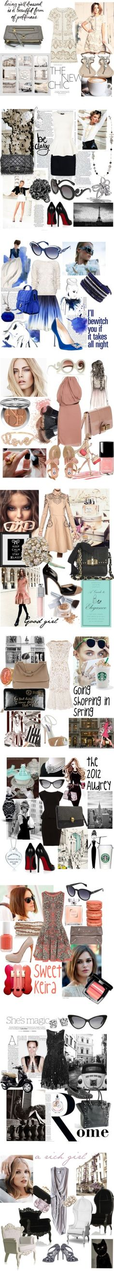 """""""a good girl's story"""" by princessekiki ❤ liked on Polyvore"""
