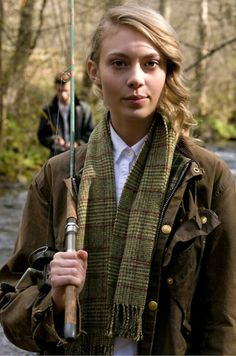 Girls in Barbour Country Attire, Country Outfits, Country Girls, British Country Style, Tweed, Barbour Women, Preppy Style, My Style, Wax Jackets