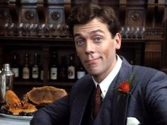 Jeeves and Wooster (TV show) Hugh Laurie as Bertie Wooster The Times London, Jeeves And Wooster, Writer Humor, House Md, Hugh Laurie, British Comedy, Star Wars, Comedy Tv, Por Tv
