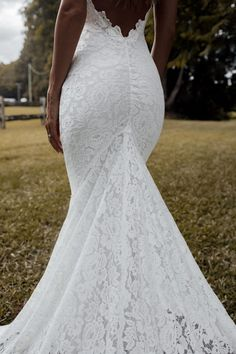 Fall in love with our famous Clo silhouette paired with our favourite shimmery, pearlescent threaded lace. Wedding Dress Types, Fairy Wedding Dress, Perfect Wedding Dress, Dream Wedding Dresses, Bridal Dresses, Lace Wedding, Wedding Bells, Wedding Gowns, Long Veils Bridal