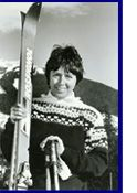 Nancy Greene: world class skier