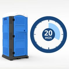 Myblok Easy to Assemble Portable Toilet assemble in 20 minutes Ensemble Sanitarios Portatiles 20 min