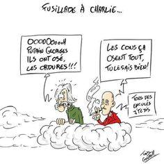 Ils ont souhaité réaffirmer leur soutien aux valeurs de la liberté d'expression dans la presse... #CharlieHebdo