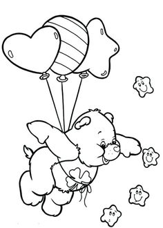 481 best care bears coloring pages
