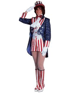 Check out Sequin Miss Uncle Sam Adult - Designer Halloween Womenu0027s Costume from Wholesale Halloween Costumes  sc 1 st  Pinterest & 56 best Fourth of July Costume Ideas images on Pinterest | Wholesale ...
