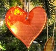 """edible """"glass"""" ornaments.  In the Victorian era they decorated the tree with candy and cookies."""