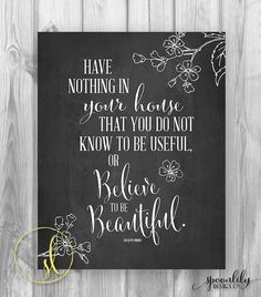 I love this quote, and this is just a beautiful typographical arrangement of it!
