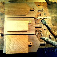 cutting boards. oak, maple
