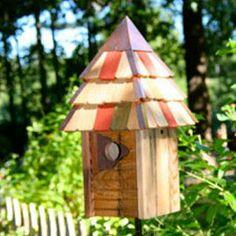 Vintage Gatehouse Bird House