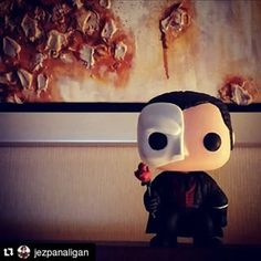Instagram photo by likhangpinoycustoms - Phantom of the Opera Custom Funko Pop! :)