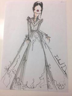 e0ecb81b5d4 Появились первые эскизы свадебного платья Меган Маркл