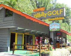 Hillbilly Golf -- It's the world's most unusual miniature golf course in Gatlinburg