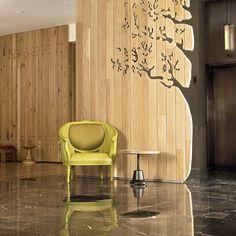 AVIA hotel lobby, design by #McCARTAN #luxury #design #interior