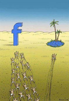 La isla de Facebook #SocialMedia