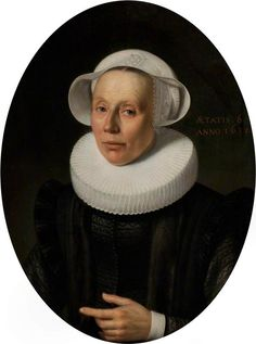 Nicolaes Eliasz. Pickenoy - Portret van een dame (1631)