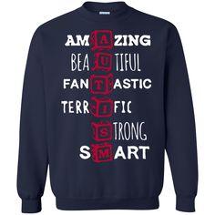 Autism T-shirts Amazing Beautiful Fantastic Terrific Strong Smart Shirts Hoodies Sweatshirts Autism T-shirts Amazing Beautiful Fantastic Terrific Strong Smart S