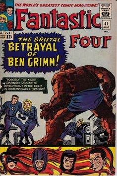 Fantastic Four 1961 1st Series 41 August 1965 Issue by ViewObscura, $20.00