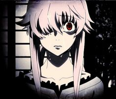 ok Mmmm I can do it, anyway Mirai Nikki review: I can say I cried I don't cry for anime it was sad but that happy ending it's just sick! Move on, the graphics are good I finished it in 2 days so it wouldn't be long 26 episode I guess it's not that kind of crazy killer story if that what you looking for it's just broken girl. Ahhhh hearteach